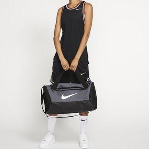 Nike Sportswear Brasilia Duffel Bag Gray Big 60 L